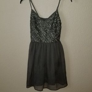 Grey Hollister Dress